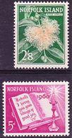 Norfolk Island 1960 Mi 35, 41 MNH ** - Norfolk Island