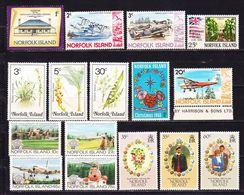 Norfolk Island 1968-1984 Lot Of Stamps MNH ** - Norfolk Island