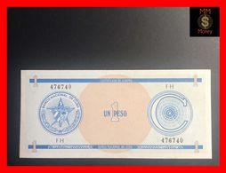 CUBA 1 Peso 1987  P. FX 11  Serie C   UNC - Kuba