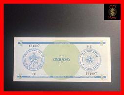 CUBA 5 Pesos 1987  P. FX 13  Serie C  UNC - Kuba