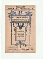 PARTITION LE CHEMIN D'AMOUR Répertoire Francis MARTY Et Carmen VILDEZ - Noten & Partituren
