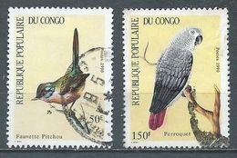 Congo YT N°869-871 Oiseaux Oblitéré ° - Afgestempeld