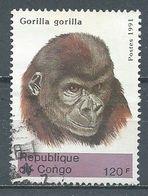 Congo YT N°948F Gorille Oblitéré ° - Afgestempeld