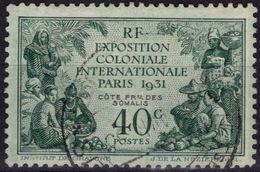 COTE DES SOMALIS 137 (o) Exposition Coloniale Internationale De Paris 1931 - Beau Cachet (CV 8,25 €) - Oblitérés
