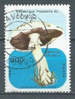 Congo YT N°888G Champignon Agaricus Arvensis Oblitéré ° - Afgestempeld