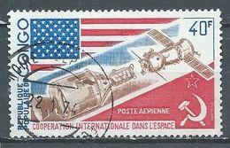 Congo Poste Aérienne YT N°174 Coopération Internationale Dans L'espace Oblitéré ° - Afgestempeld