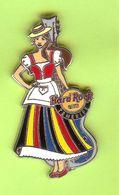 Pin's Hard Rock Café Tenerife Robe La Falda Guitare Bleue - HRC064 - Musique