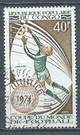 Congo Poste Aérienne YT N°179 Coupe Du Monde De Football Munich 1974 Oblitéré ° - Afgestempeld