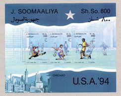 SOMALIA, 1994 - FOGLIETTO - SOUVENIR SHEET - MONDIALI DI CALCIO, MNH** - Somalie (1960-...)
