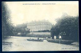 Cpa Du 49 Le Lion D' Angers Château De L' Île Briand     AVR20-82 - Angers