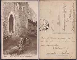 Italia - Cartolina Postale - Porta D'Ingresso Castello D'Entréves - 1924 - Circulee - Cygnus - Aosta