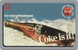 Télécarte Américaine : Coca Cola Sprint Phone Card #1157579 - Télécartes