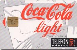Télécarte Hongroise : Coca Cola Light - Télécartes