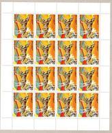 SOMALIA 2003, FOGLIO INTERO - FULL SHEET - CANI - DOGS X 16 ** . - Somalie (1960-...)