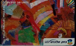 ISRAEL 2002 BEZEQ PHONECARD AMIR BAY USED VF!! - Israel