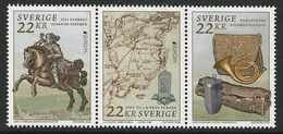 "SUECIA /SWEDEN /SCHWEDEN /SWERIGE /SUÉDE - EUROPA 2020 -"" ANCIENT POSTAL ROUTES"" - THREE STAMPS From SOUVENIR SHEET - Europa-CEPT"