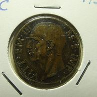 Italy 10 Centesimi 1937 - 1900-1946 : Victor Emmanuel III & Umberto II