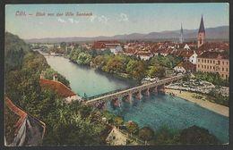 SLOVENIJA SLOVENIA CELJE CILLI Villa Sanneck Kapucinski Most Panorama Old Postcard (see Sales Conditions) 02243 - Slovenia