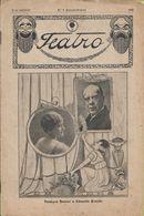 Lisboa - Revista Teatro Nº 9 (Extraordinário) De 1918 - Palmira Bastos - Eduardo Brazão - Portugal - Andere