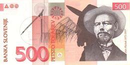 SLOVENIA P. 16b 500 T  2001 UNC - Slowenien