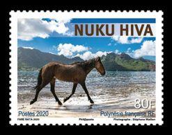 French Polynesia 2020 Mih. 1431 Nuku Hiva Island. Fauna. Horse MNH ** - Neufs