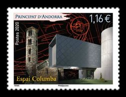 Andorra (FR) 2020 Mih. 865 Espai Columba Cultural Center MNH ** - Unused Stamps