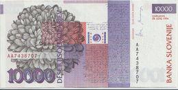 SLOVENIA P. 20a 10000 T 1994 AUNC - Slovénie
