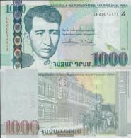 Armenia Pick-number: 59 Uncirculated 2015 1.000 Dram - Arménie