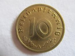 Germany: 10 Pfennig 1938 A - [ 4] 1933-1945 : Tercer Reich