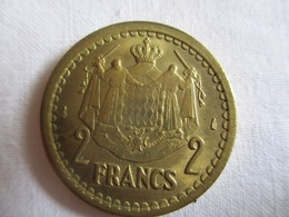 Monaco 2 Francs Non Daté (1943) - Monaco
