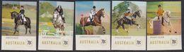Australia 2014 Equestrian Events Sc 4140-44 Mint Never Hinged P&S Ex Booklet - 2010-... Elizabeth II
