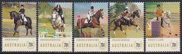Australia 2014 Equestrian Events Sc 4135-39 Mint Never Hinged - 2010-... Elizabeth II
