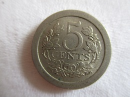 Netherland: 5 Cents 1908 - 5 Cent