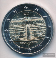 FRD (FR.Germany) 2020 G Stgl./unzirkuliert Reprint: 6 Million. 2020 2 Euro Castle Sanssouci - Allemagne