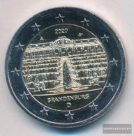FRD (FR.Germany) 2020 A Stgl./unzirkuliert Reprint: 6 Million. 2020 2 Euro Castle Sanssouci - Allemagne
