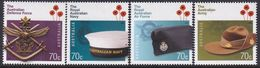 Australia 2014 Aus Def Forces Sc 4202-05 Mint Never Hinged - 2010-... Elizabeth II