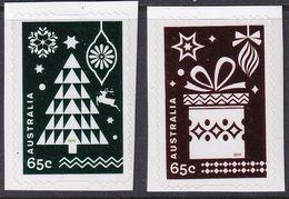 Australia 2014 Christmas Sc 4221-22 (foils) Mint Never Hinged - 2010-... Elizabeth II