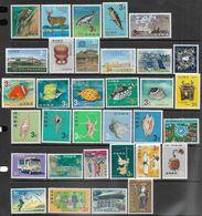 Ryukyu Islands   1966-8   32 Diff   MLH  2016 Scott Values $9.40 - Ryukyu Islands
