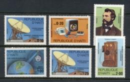 Haiti 1978 Telephone Centenary, Alexander Graham Bell MUH - Haiti