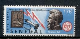 Senegal 1976 Telephone Centenary, Alexander Graham Bell MUH - Senegal (1960-...)