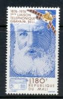 Mali 1976 Telephone Centenary, Alexander Graham Bell MUH - Mali (1959-...)