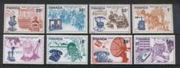 Rwanda 1976 Telephone Centenary, Alexander Graham Bell MUH - 1970-79: Mint/hinged
