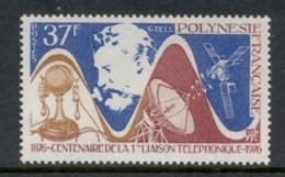 French Polynesia 1976 Telephone Centenary, Alexander Graham Bell MUH - Neufs