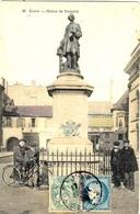Carte Postale De Dijon ( Statue De Rameau )  Affr. Mixte 5 C Blanc + Cérès N°60 - Postmark Collection (Covers)