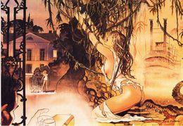 MANARA: Le Déclic [ Nu Femme Nude CPM Italienne ] FM037 - Paintings