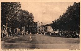 Sport De Balle - Le Jeu Du Tambourin à Pézenas (Hérault) Edition Combier, Carte CIM - Postales