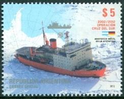 ARGENTINA 2012 NAVAL PRESENCE IN ANTARCTICA, SHIP** (MNH) - Argentinien