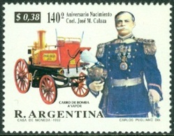 ARGENTINA 1992 COL. CALAZA, FIRE ENGINE** (MNH) - Ungebraucht