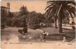 3XPS 1O31 CPA - NICE - LE SQUARE GAMBETTA - Nizza