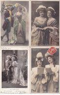 LOT-121.......10 CPA ARTISTES - 5 - 99 Postcards